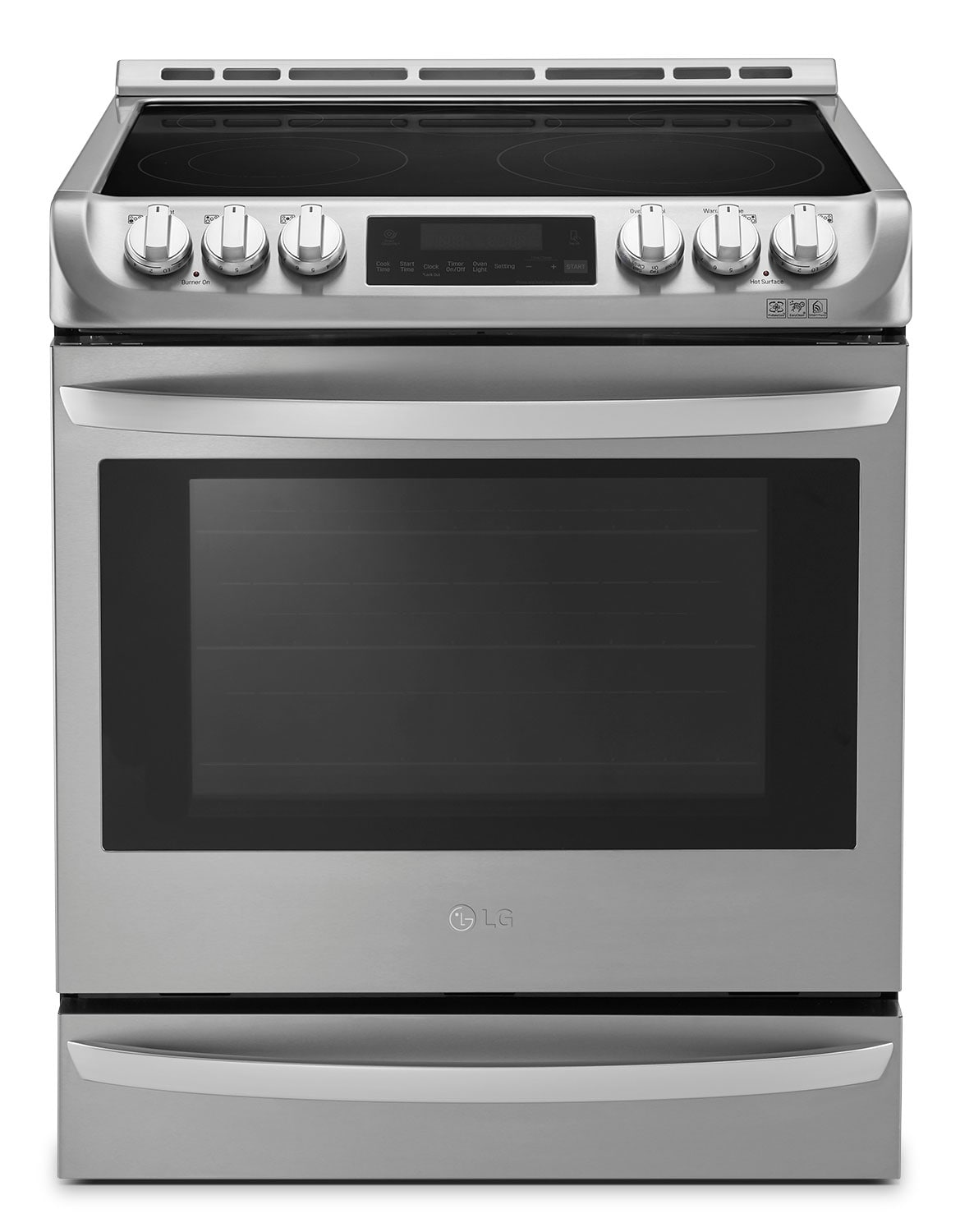 Cooking Products - LG 6.3 Cu. Ft. Slide-In Electric Range with ProBake Convection™ – Stainless Steel