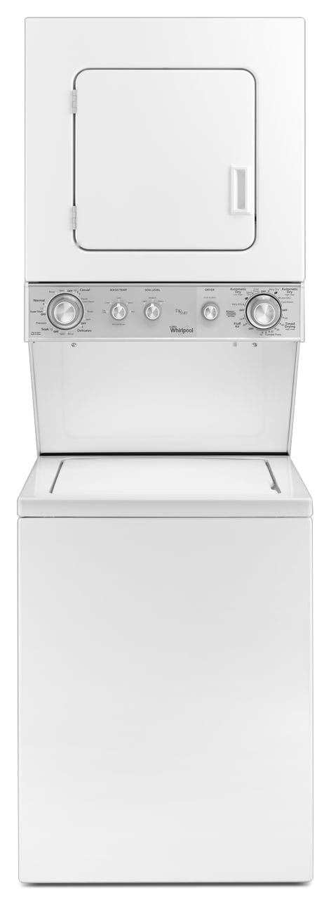 "Washers and Dryers - Whirlpool 24"" Electric Washer/Dryer Laundry Centre – White"