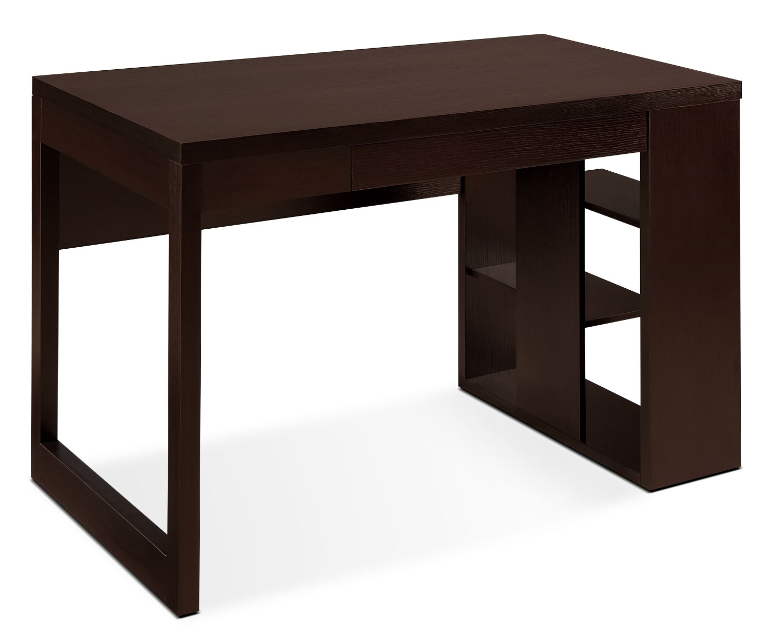 Home Office Furniture - Peyton Desk with Shelves