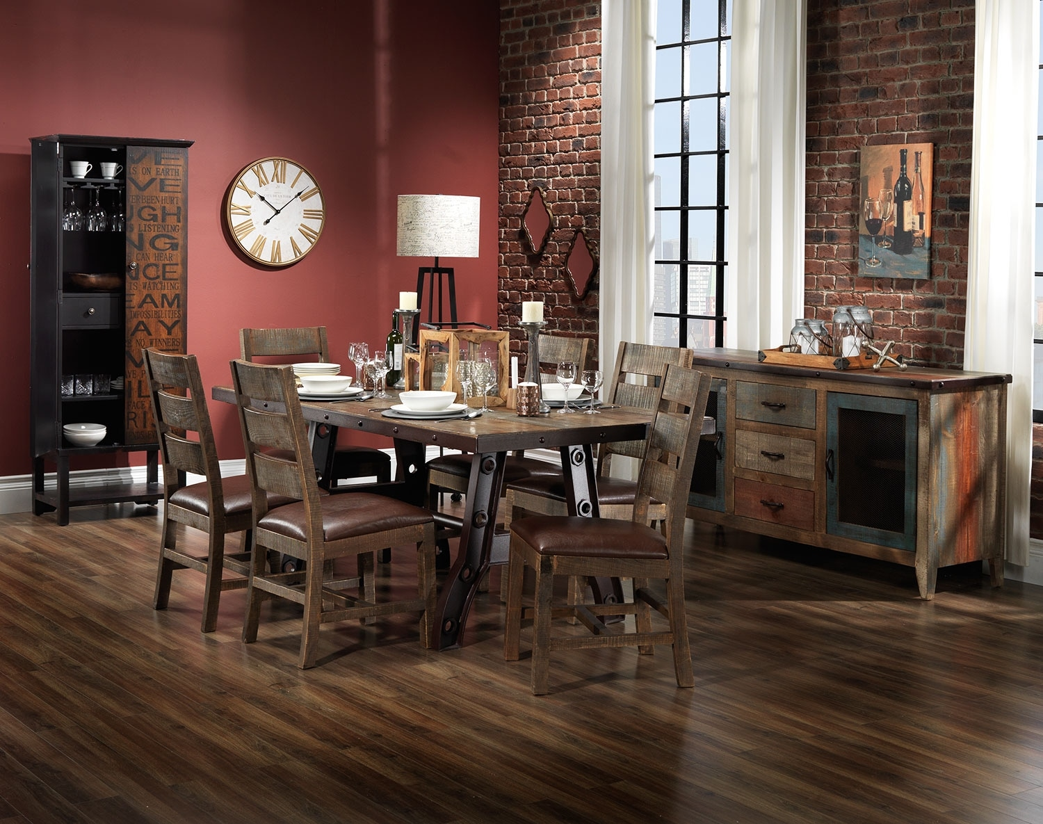 The Urban Splendor Collection - Rustic Pine