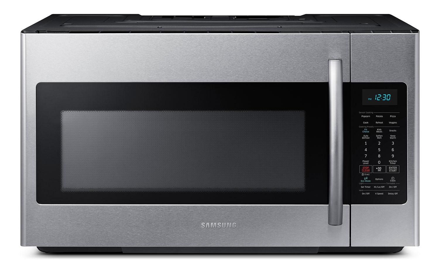 Cooking Products - Samsung 1.8 Cu. Ft. Over-the-Range Microwave – Stainless Steel