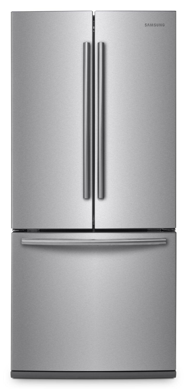 Samsung Stainless Steel French Door Refrigerator 21 6 Cu