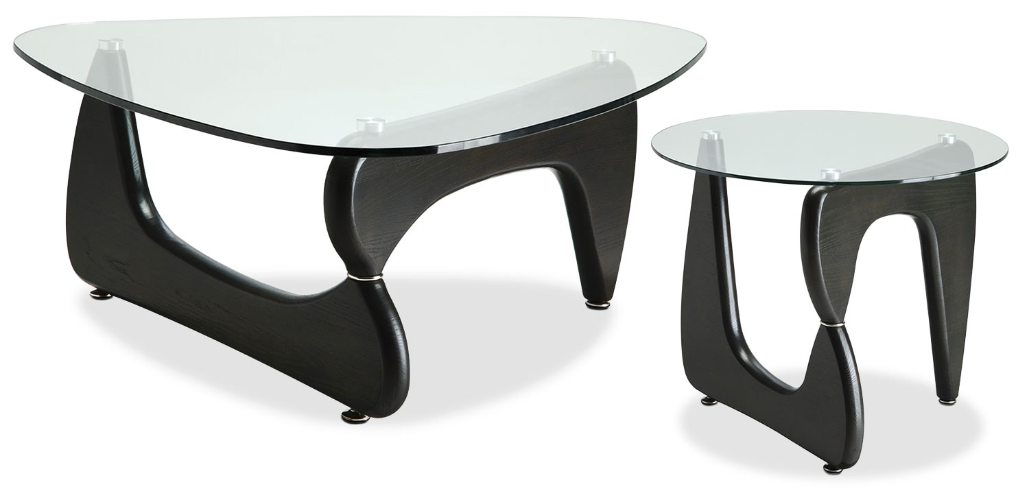 Accent and Occasional Furniture - Soyo 2-Piece Coffee and End Table Package
