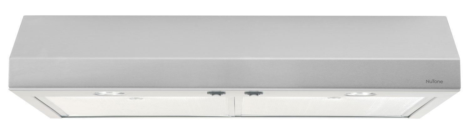 "Broan NuTone 30"" Under-Cabinet Range Hood – Stainless Steel"