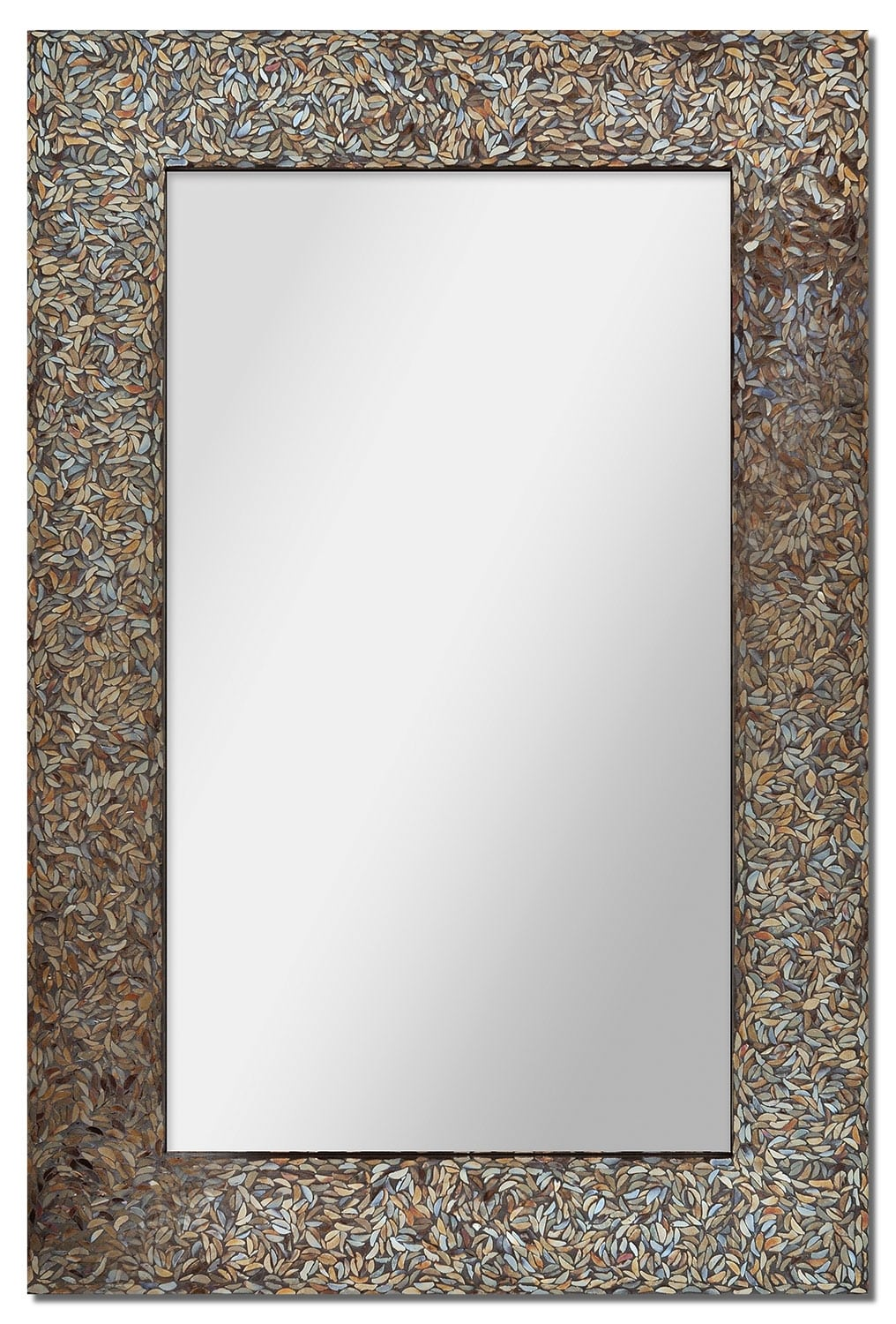 Home Accessories - Amber Mosaic Mirror