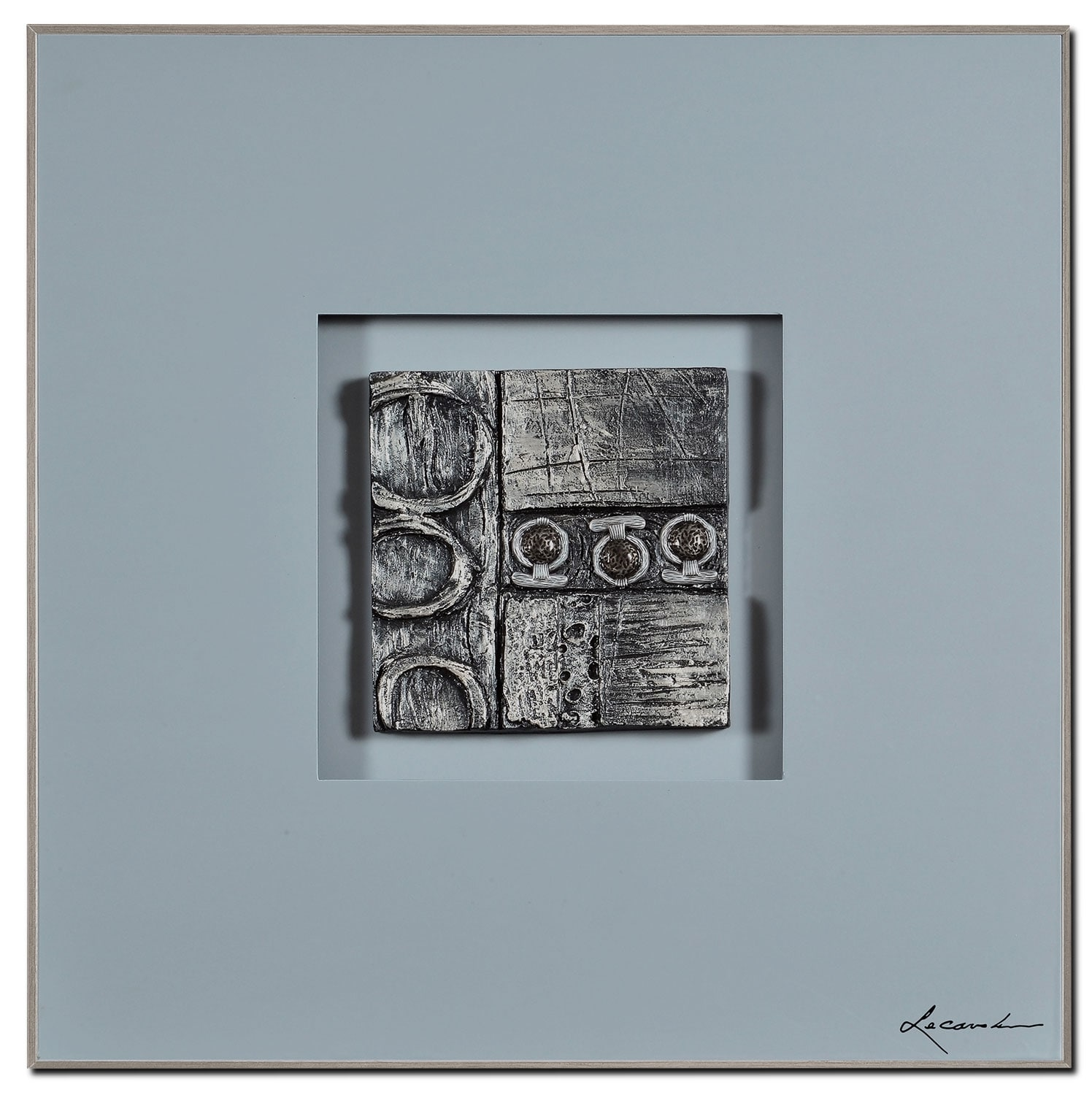 "Accent and Occasional Furniture - Gasworks I – 24"" x 24"""