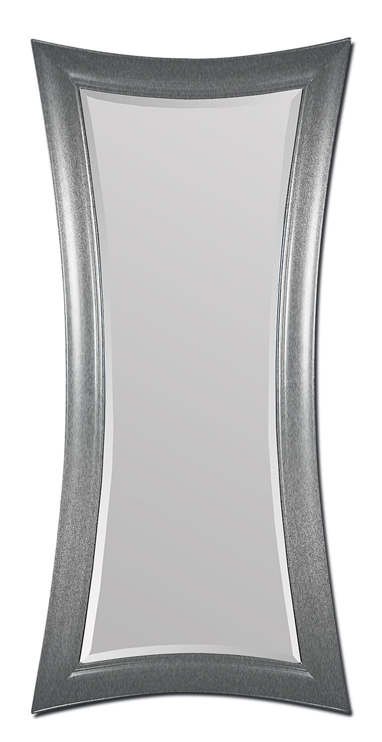Home Accessories - Antibes Silver Leaner Mirror