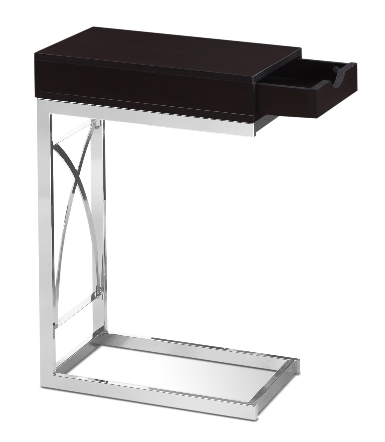 Turin Accent Table – Cappuccino