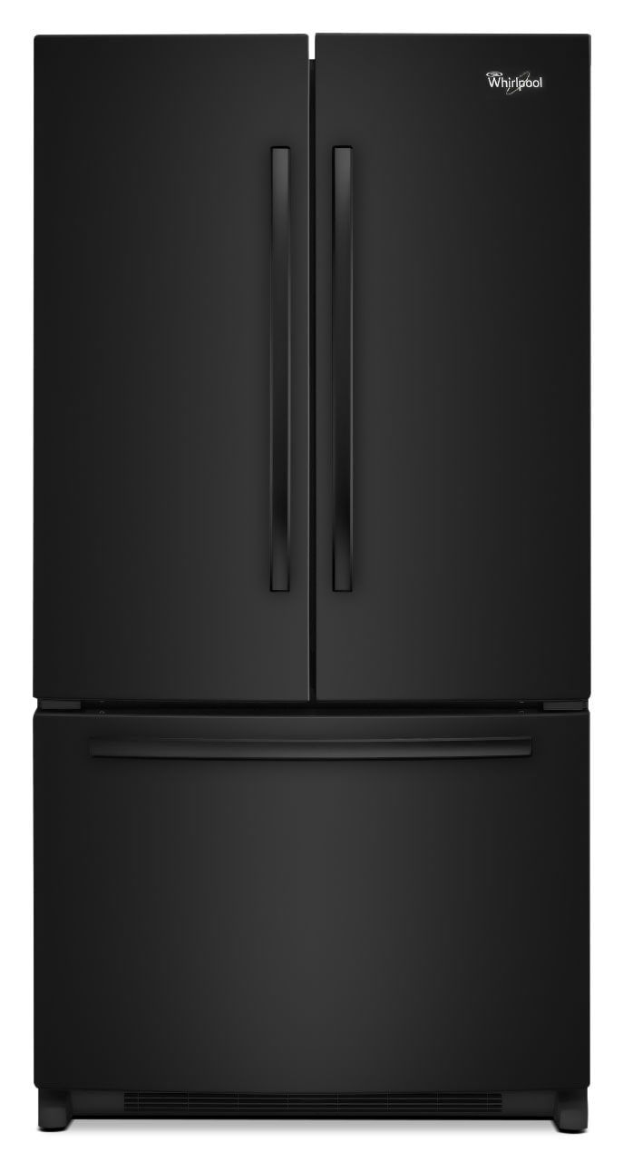 Refrigerators and Freezers - Whirlpool 25 Cu. Ft. French-Door Refrigerator – WRF535SMBB