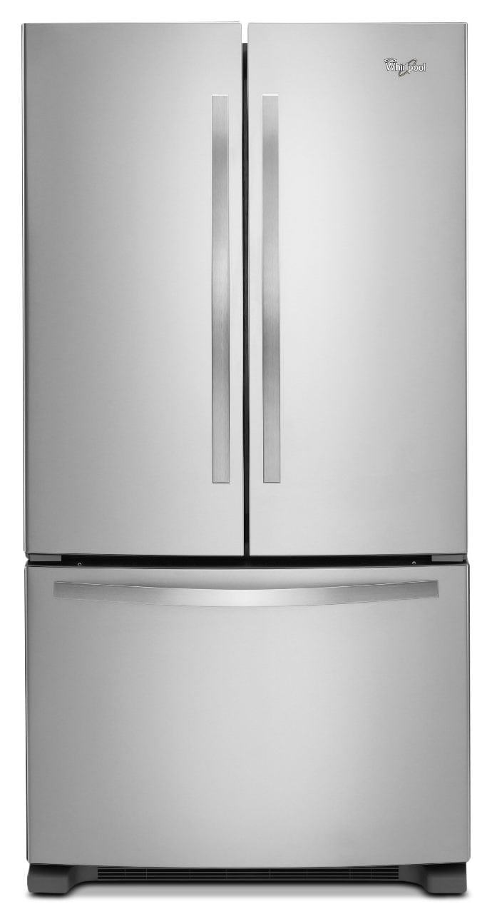 Refrigerators and Freezers - Whirlpool 25 Cu. Ft. French-Door Refrigerator – Stainless Steel