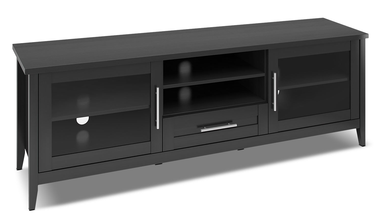 "Entertainment Furniture - Hudson 71"" TV Stand – Black"