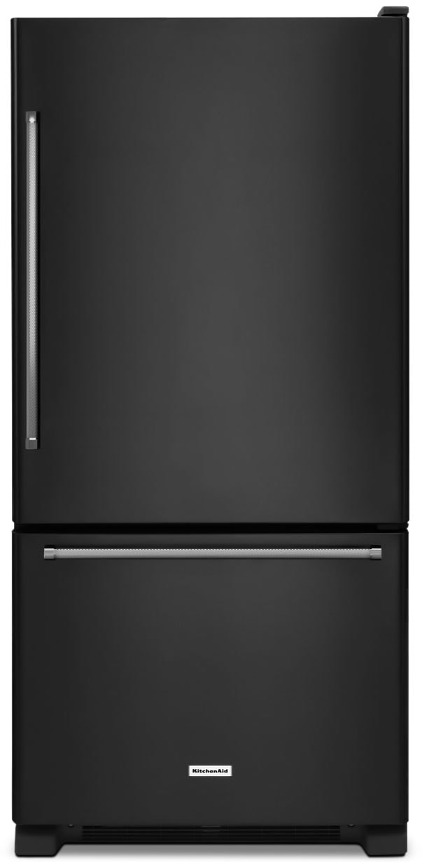 Refrigerators and Freezers - KitchenAid 19 Cu. Ft. Bottom-Mount Refrigerator – KRBX109EBL