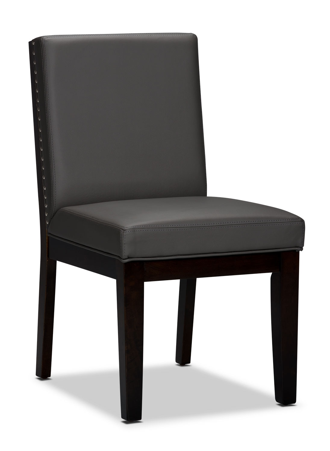 Dining Room Furniture - Couture Side Chair - Grey