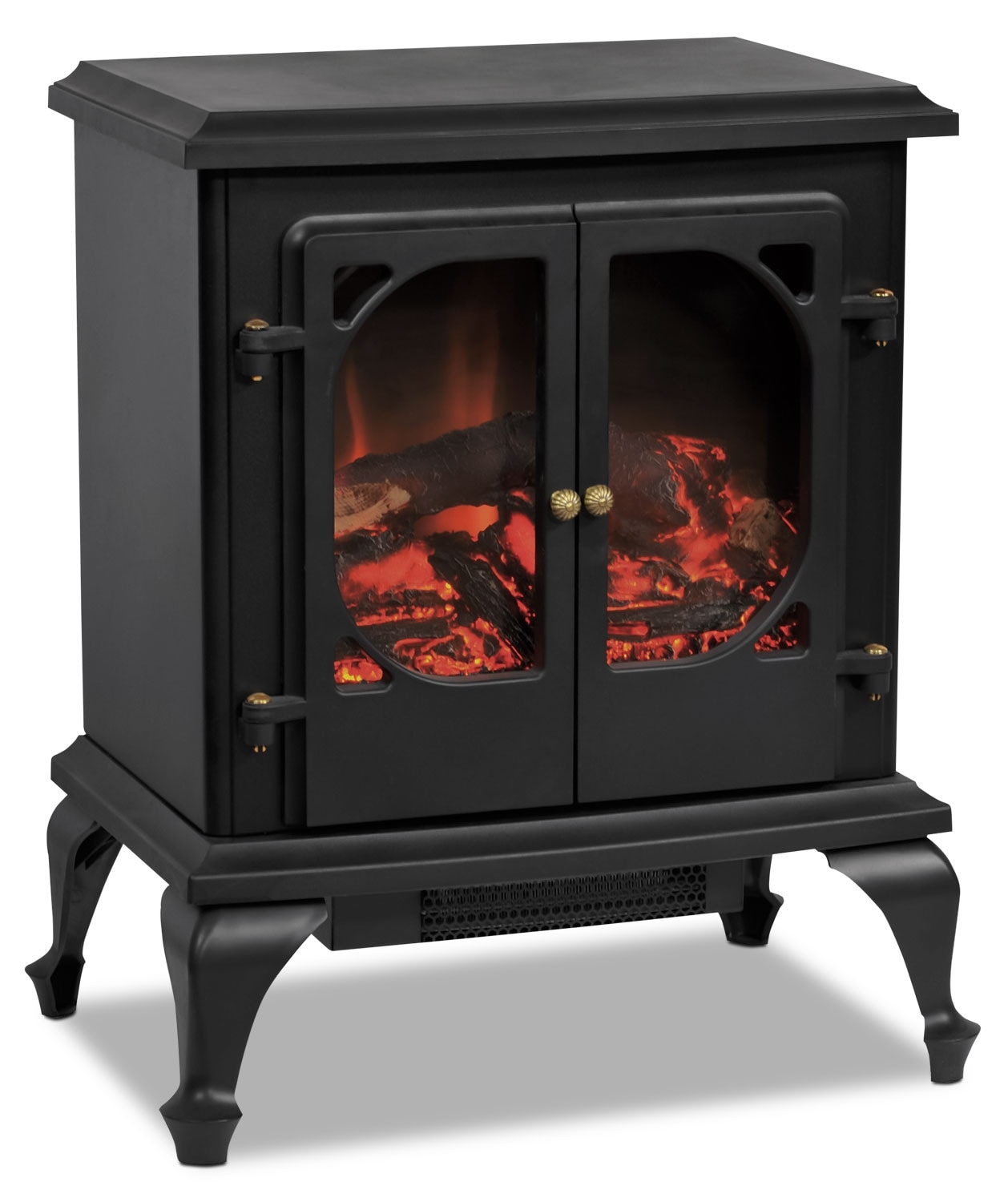 Accent and Occasional Furniture - Somerset Freestanding Electric Fireplace