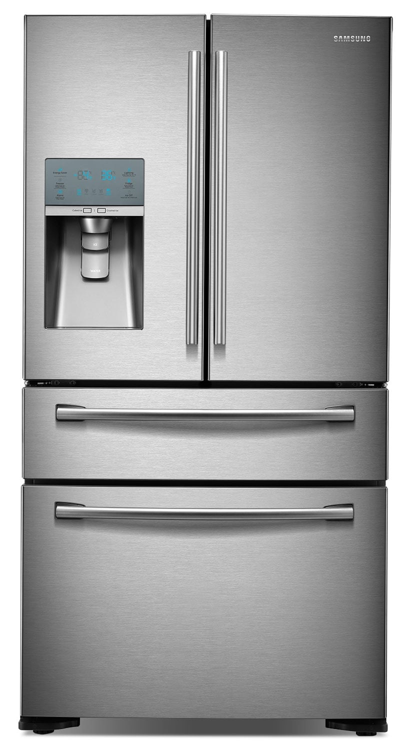 Refrigerators and Freezers - Samsung 23.61 Cu Ft. French-Door Refrigerator – Stainless Steel