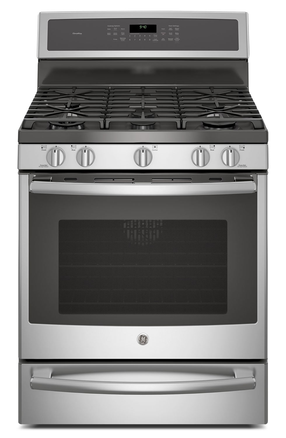 Cooking Products - GE 5.6 Cu. Ft. Freestanding Gas Range – PCGB940SEJSS
