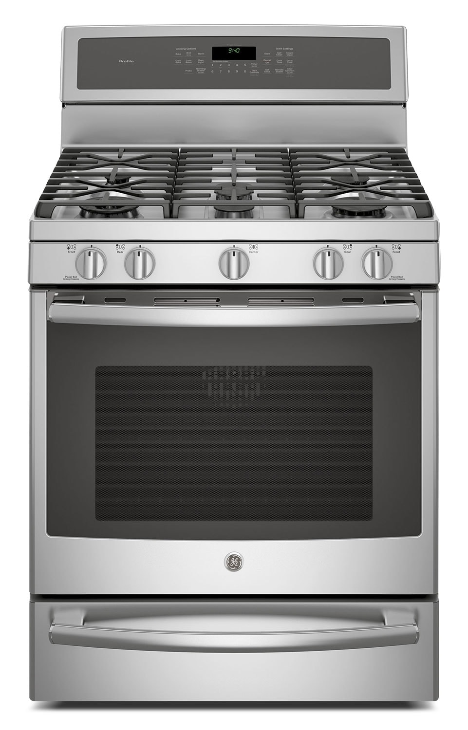 Cooking Products - GE 5.6 Cu. Ft. Freestanding Gas Range – PCGB940ZEJSS