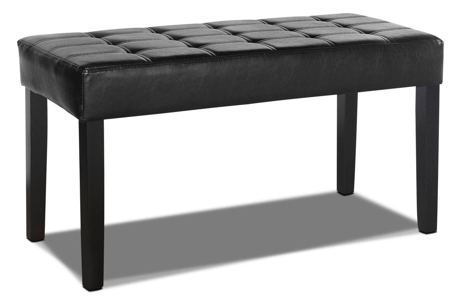 Accent and Occasional Furniture - Cali Tufted Bench – Black