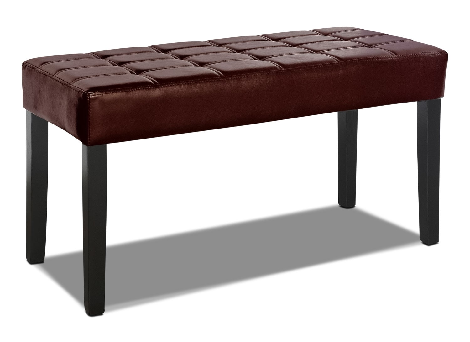 Cali Tufted Bench – Brown