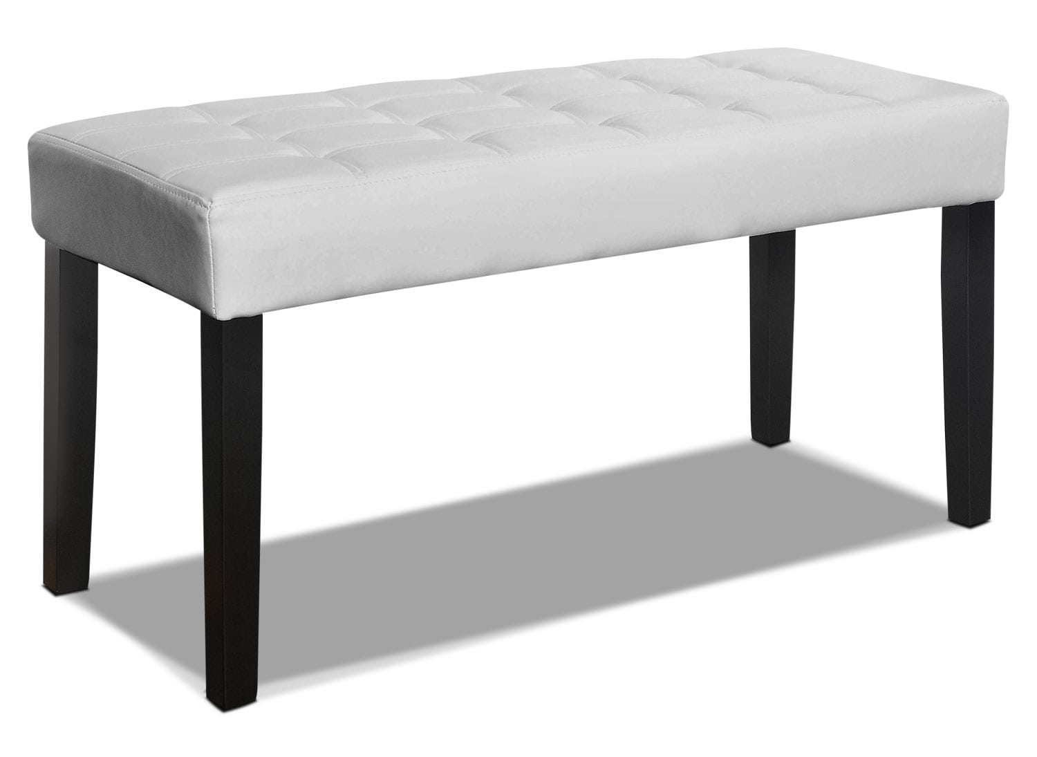 Cali Tufted Bench – White