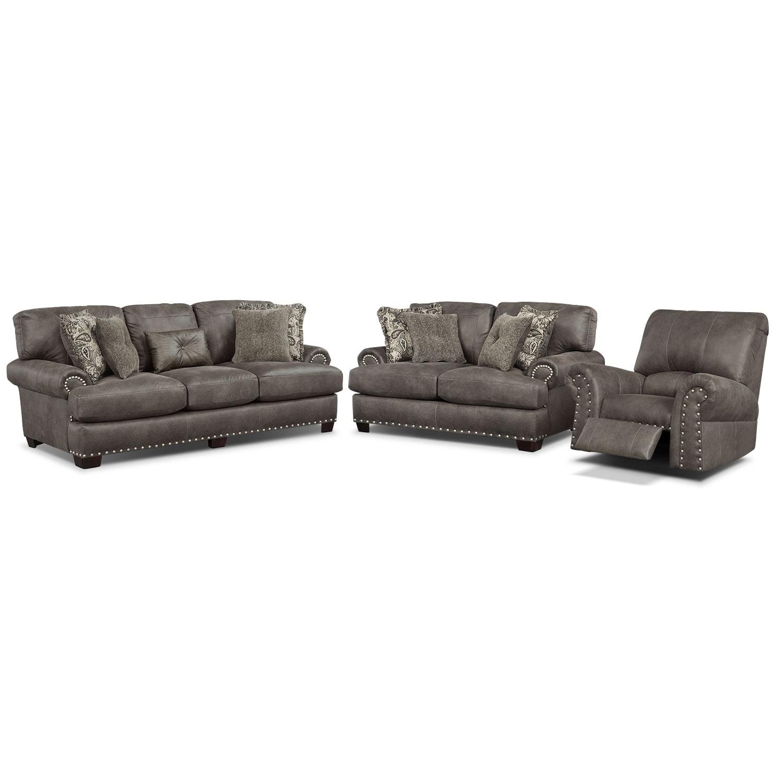[Burlington Steel 3 Pc. Living Room]