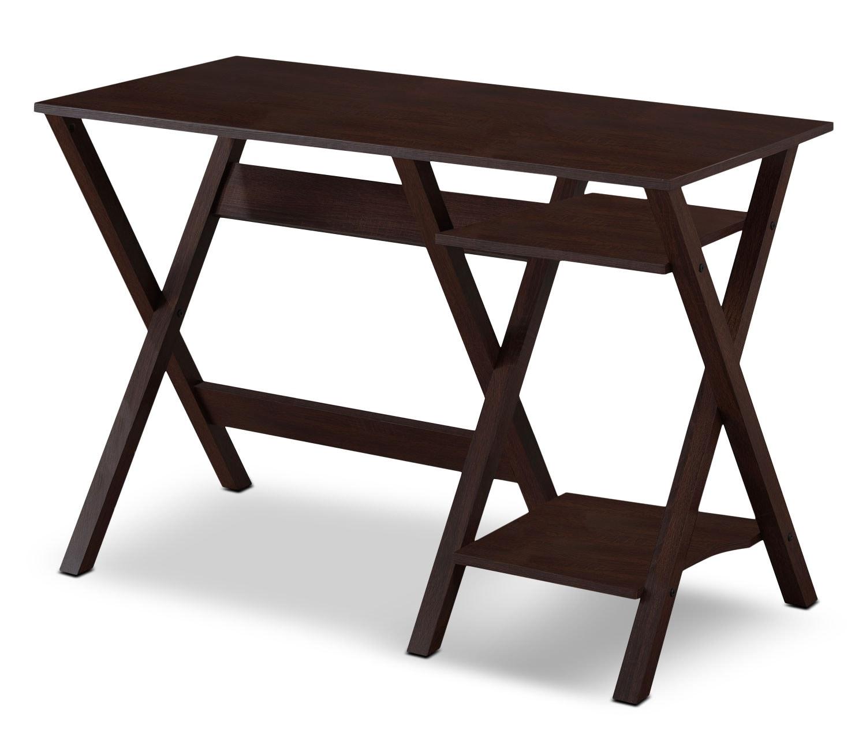 """Home Office Furniture - Cadiz 43"""" Desk – Wenge"""