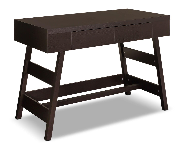 """Home Office Furniture - Cadiz 43"""" Desk with Drawer – Wenge"""