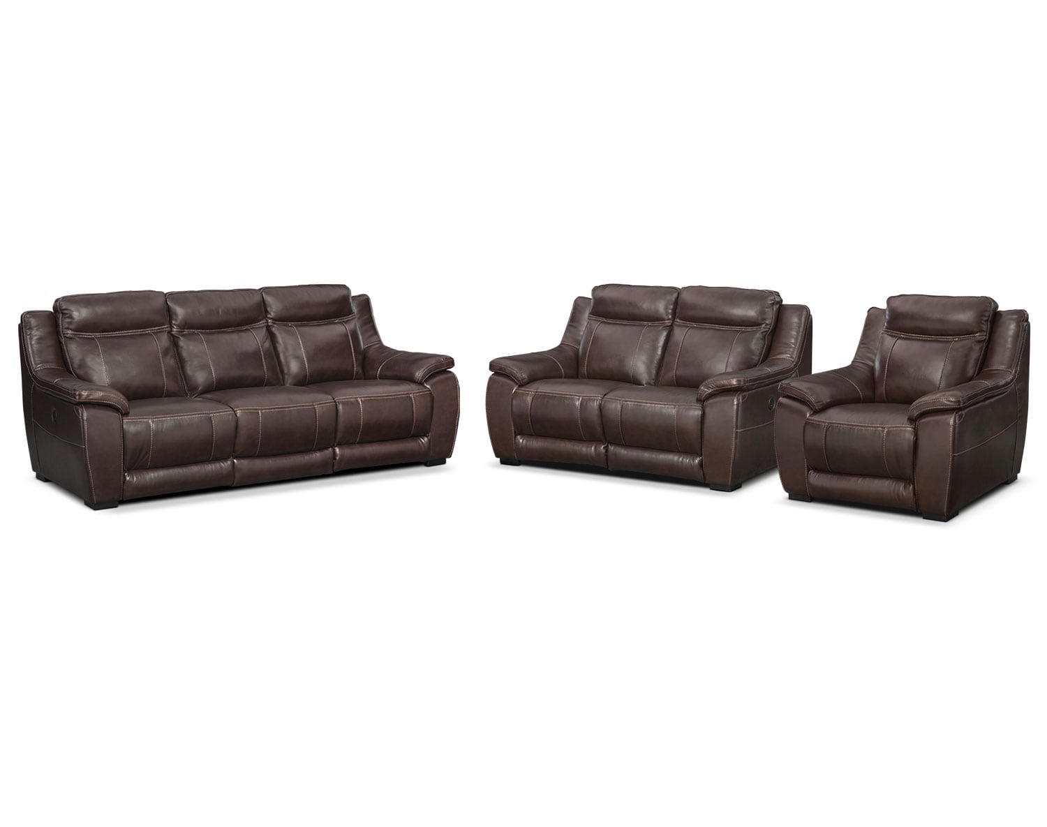 [The Lido Brown Power Reclining Collection]