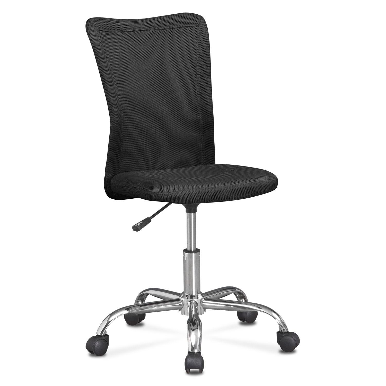 [Mist Desk Chair - Black]