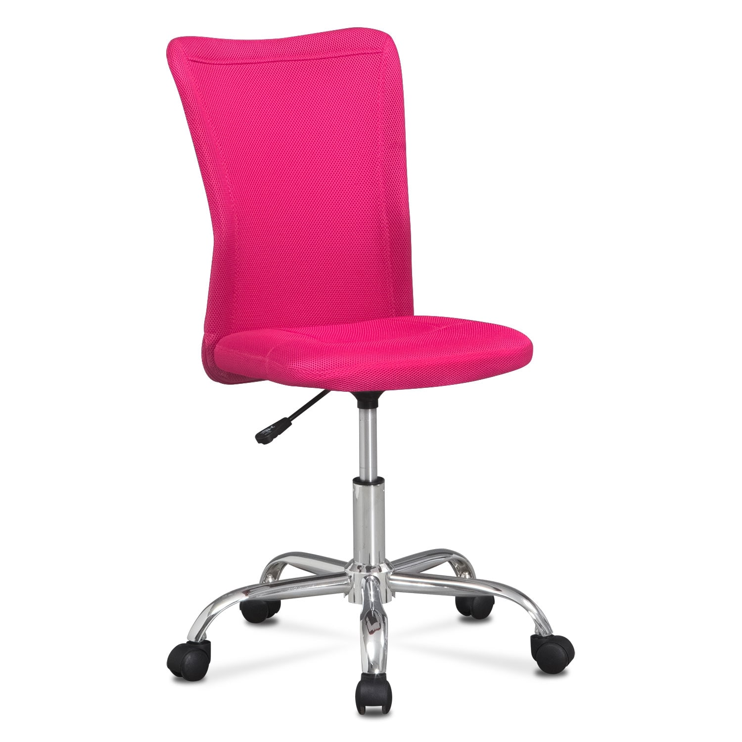 Mist Desk Chair Pink Value City Furniture