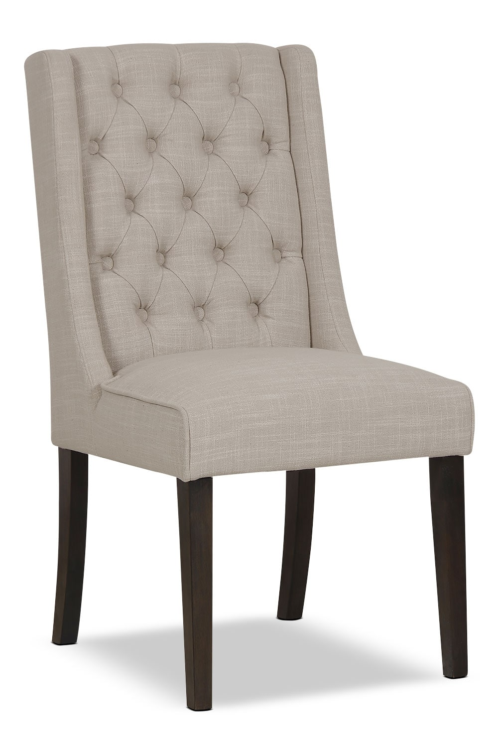 Dining Room Furniture - Caroline Wing Chair – Ivory