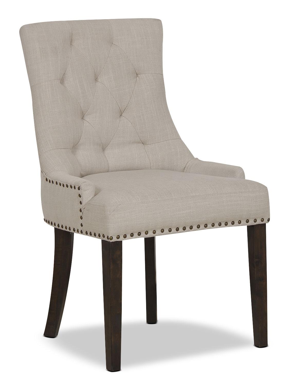 Caroline Wing Side Chair Ivory