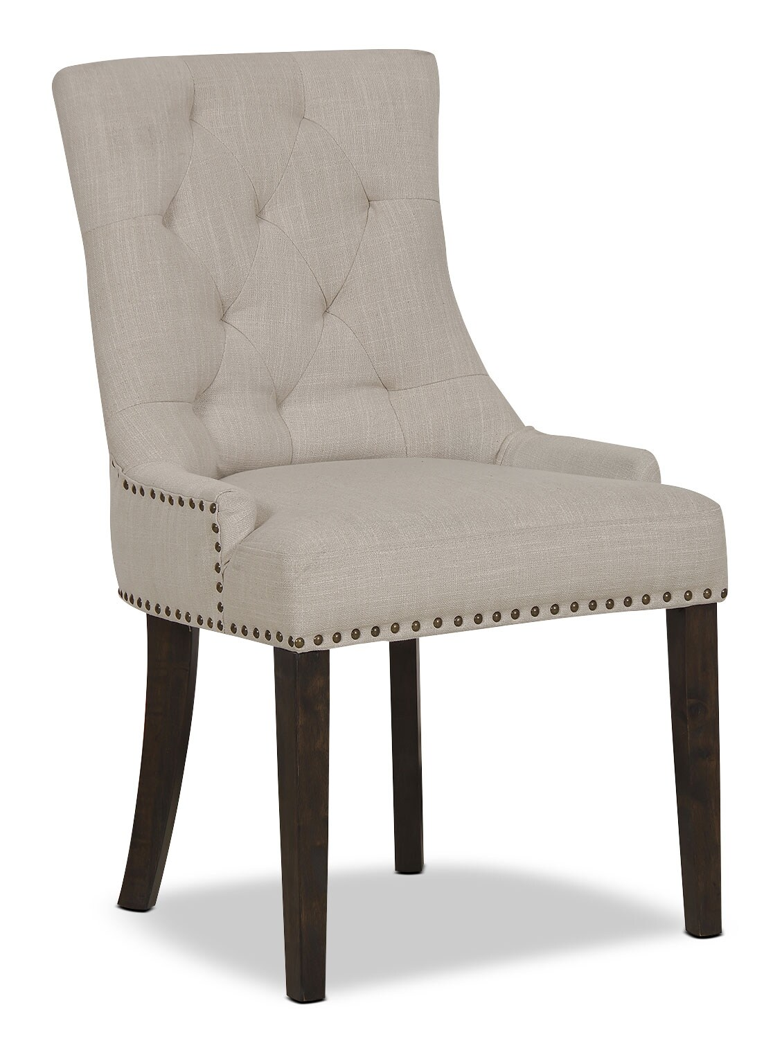 Caroline Wing Side Chair Set Of 2 Ivory The Brick
