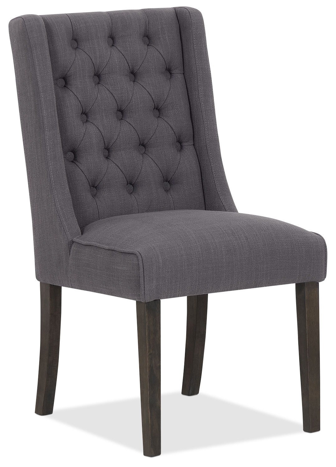 Caroline Wing Chair – Grey