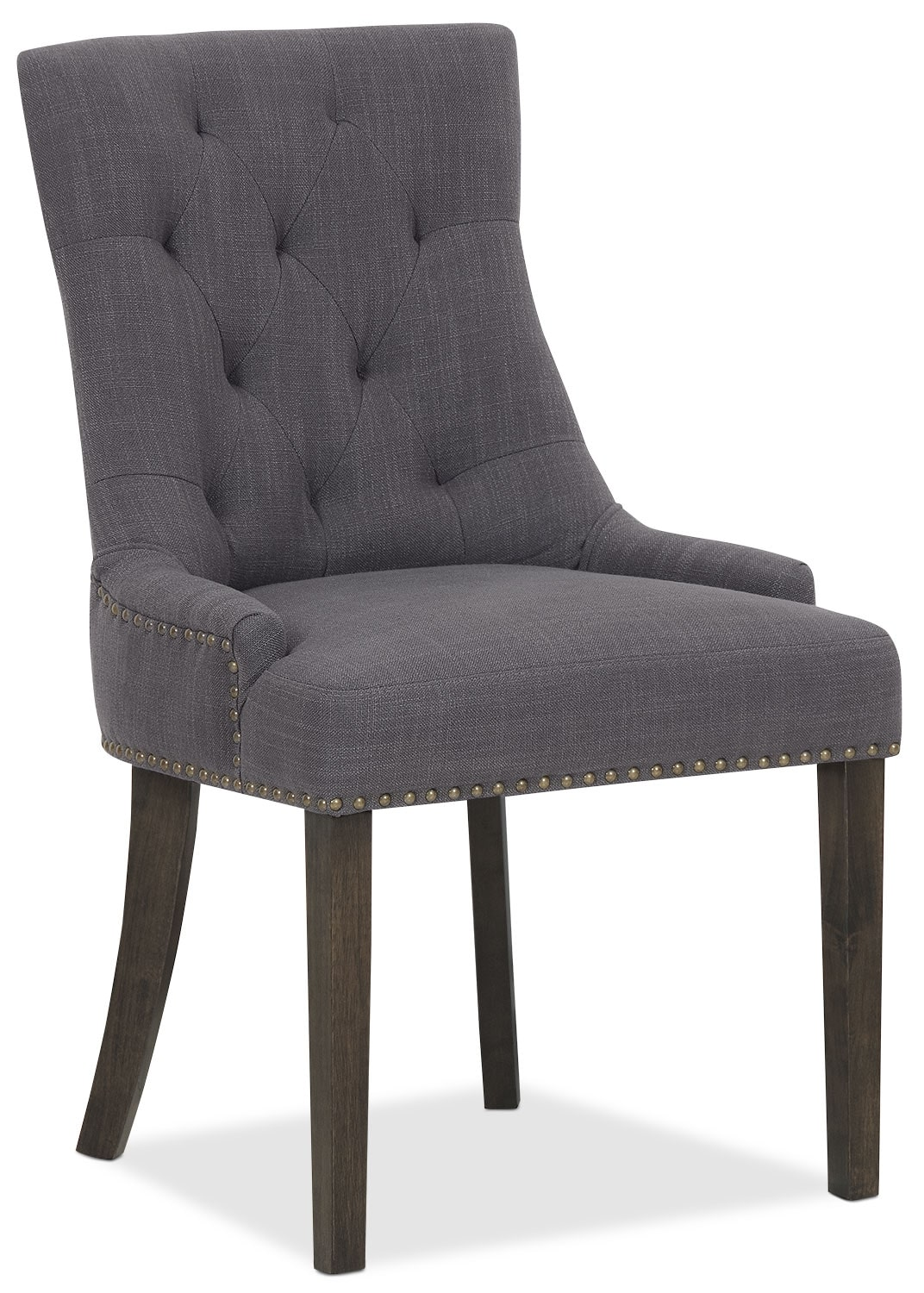 Caroline Wing Side Chair – Grey