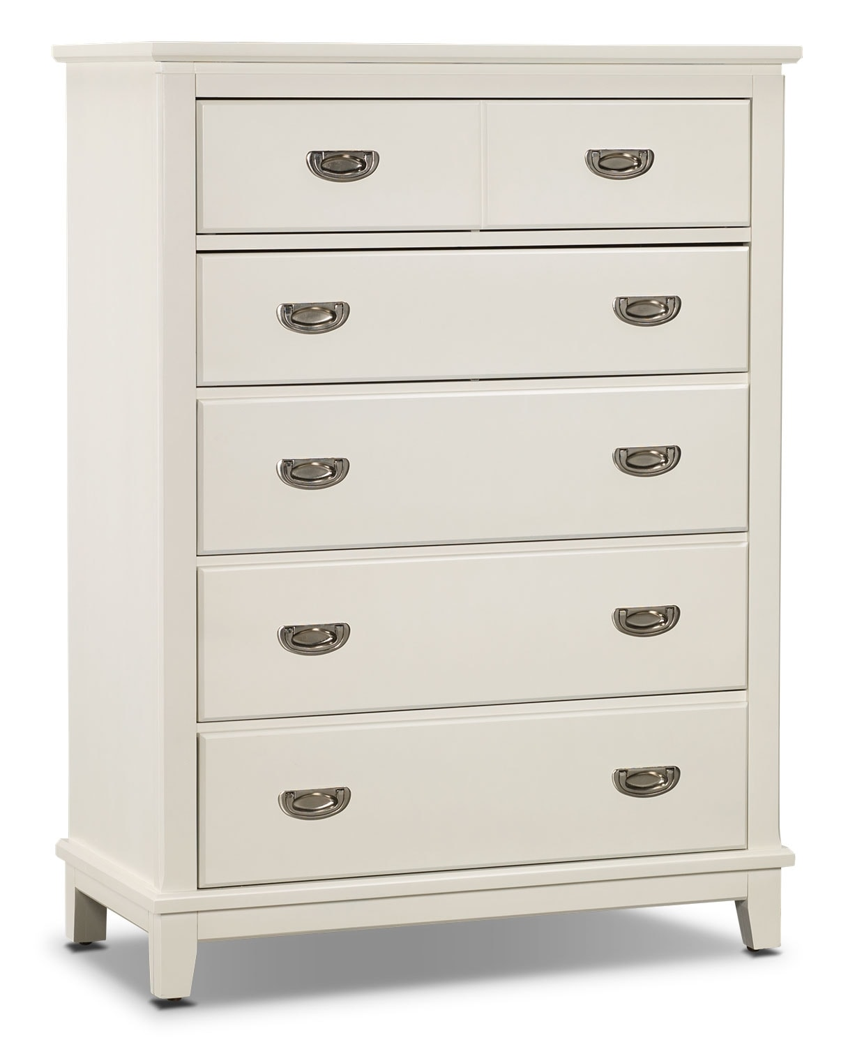 Kids Furniture - Chadwick Chest - White