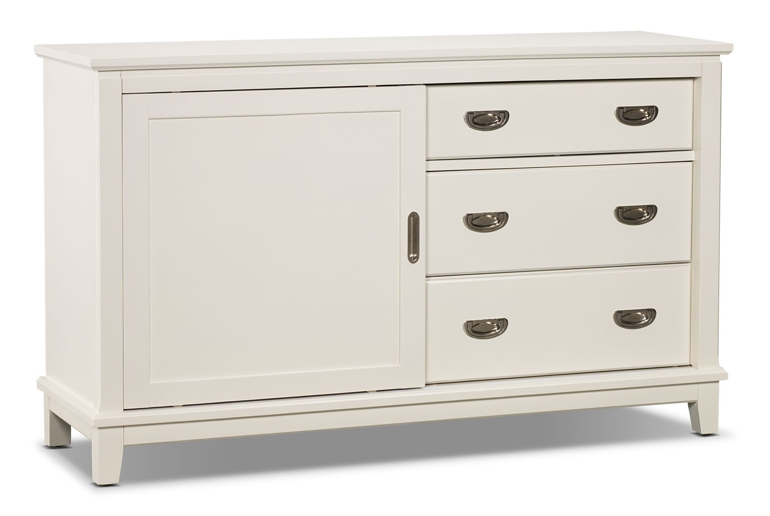 Commode Chadwick - blanche