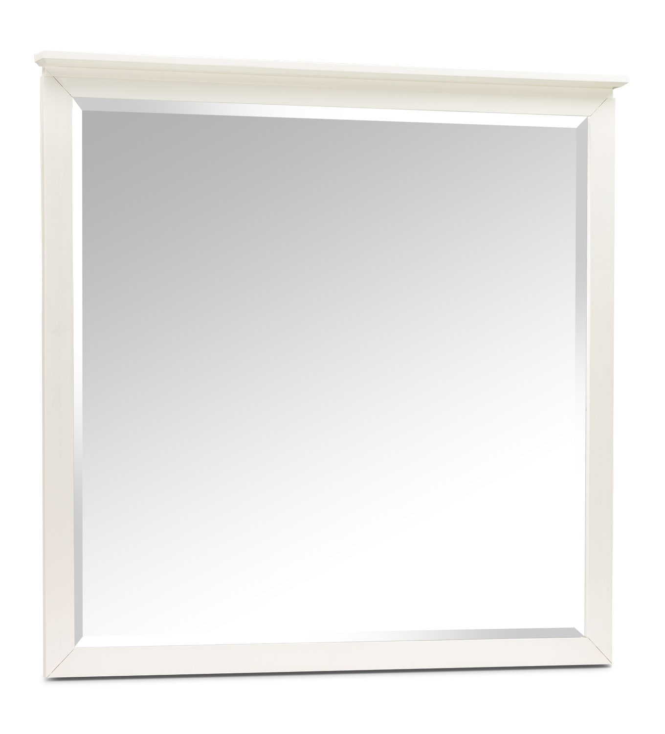 Kids Furniture - Chadwick Mirror - White