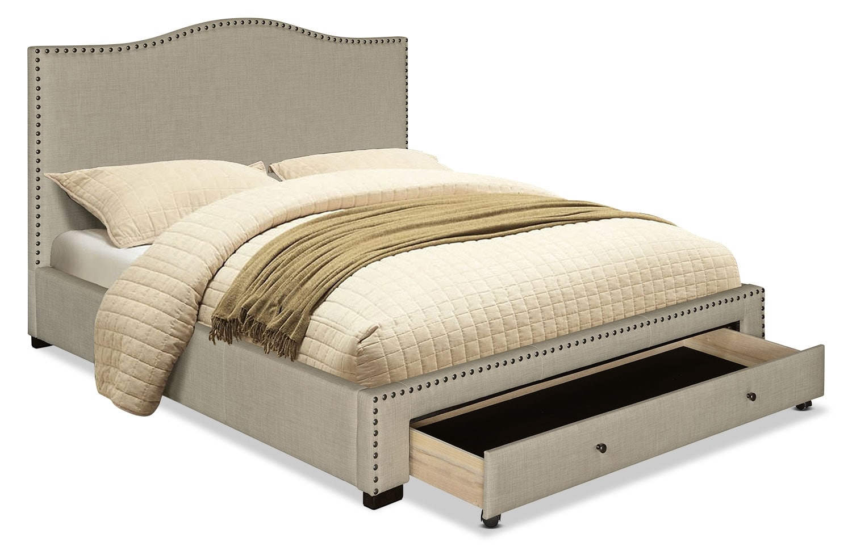Bedroom Furniture - Luxor King Bed – Beige