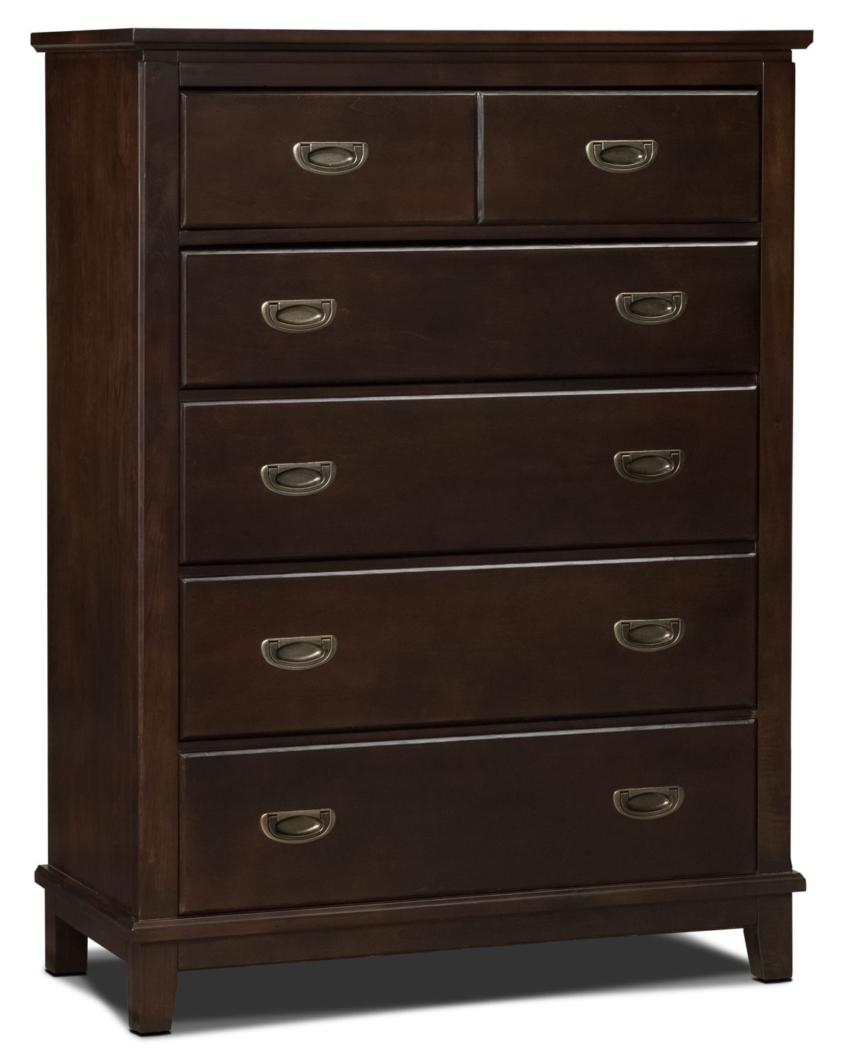 Kids Furniture - Chadwick Chest - Espresso