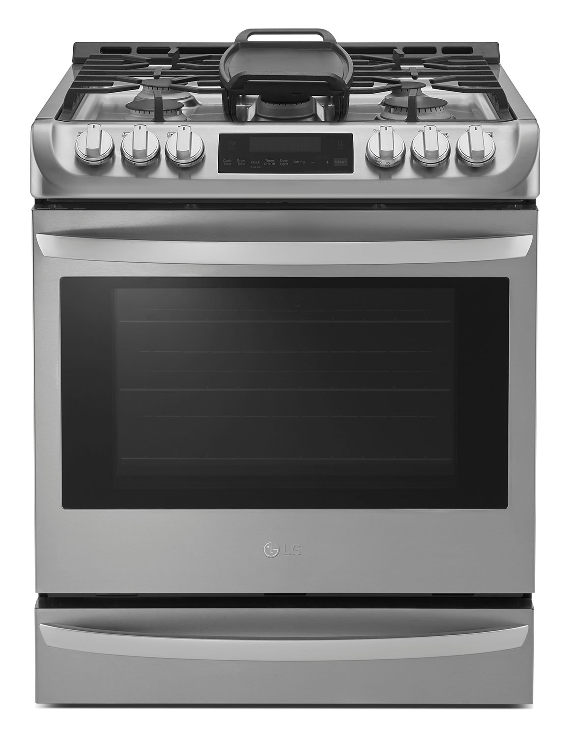 LG 6.3 Cu. Ft. Slide-In Gas Range with Probake Convection™ – LSG5513ST