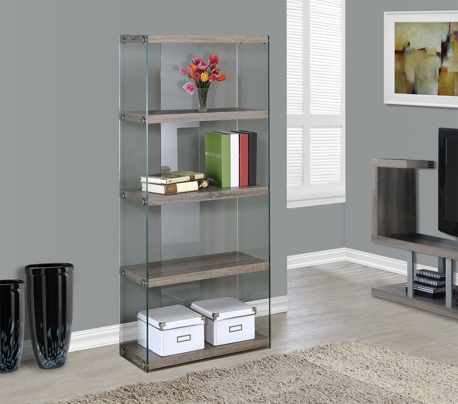 Online Only - Cassis Bookcase