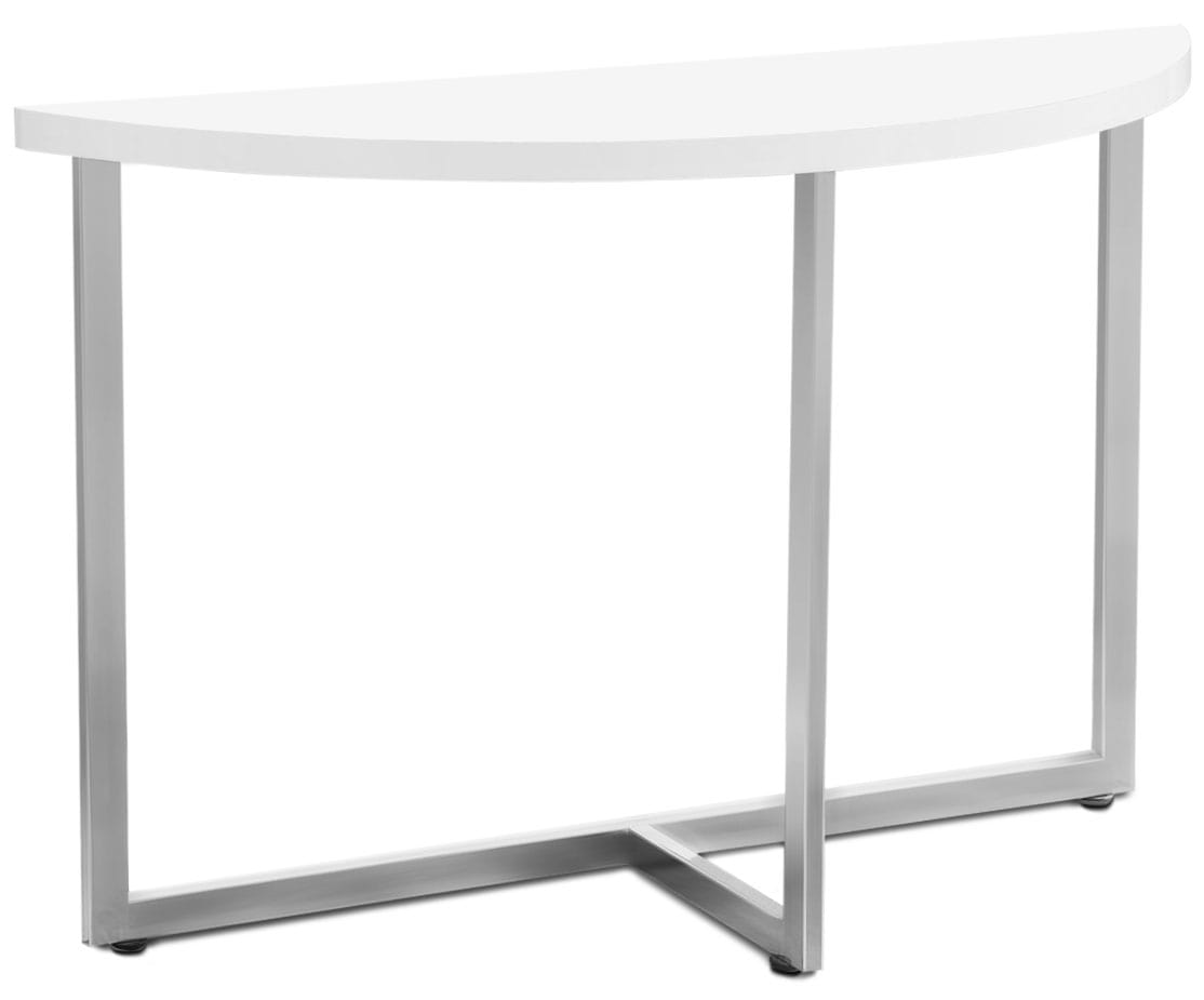 Wylie Sofa Table - White