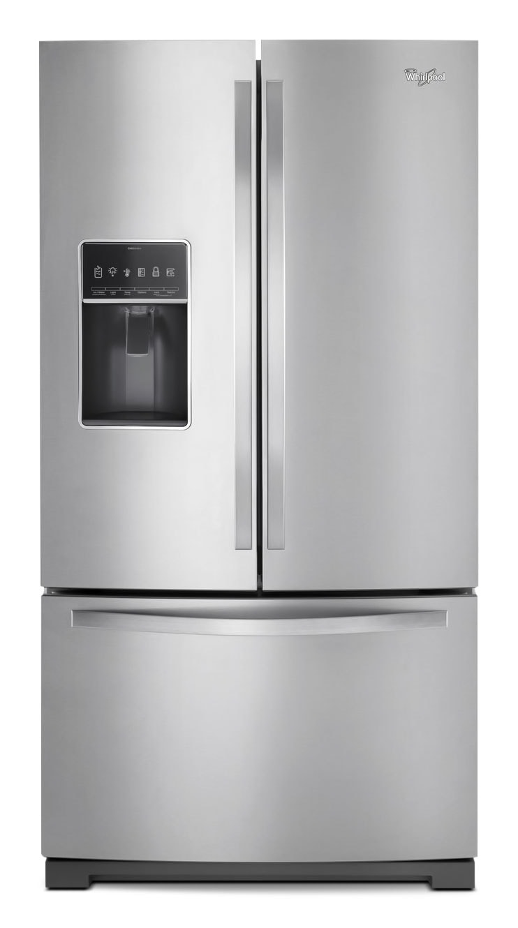 Refrigerators and Freezers - Whirlpool 27 Cu. Ft. French-Door Refrigerator – WRF757SDEM