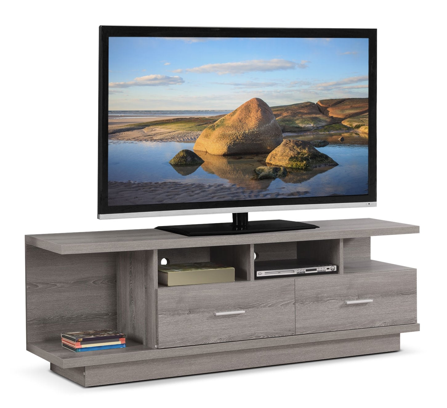 Tech craft tv stands - Online Only Cherington Tv Stand Dark Taupe