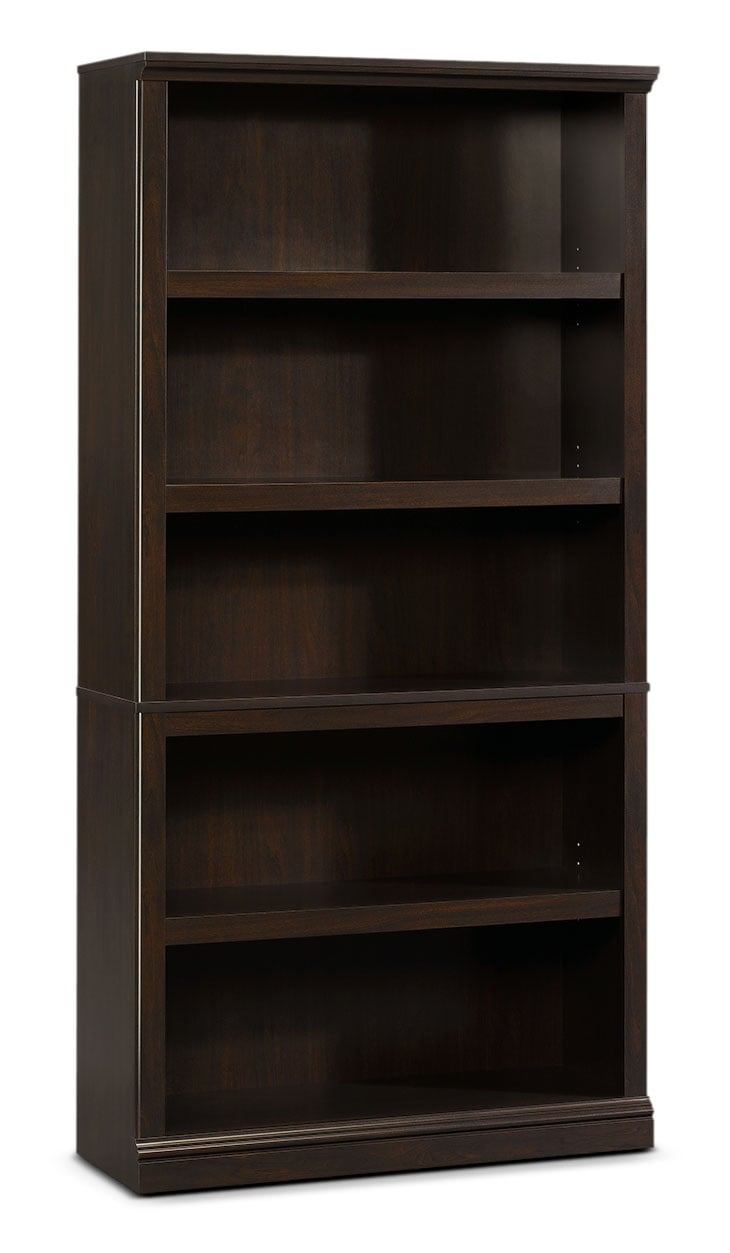 Home Office Furniture - Florida Bookcase with Five Shelves – Jamocha Wood
