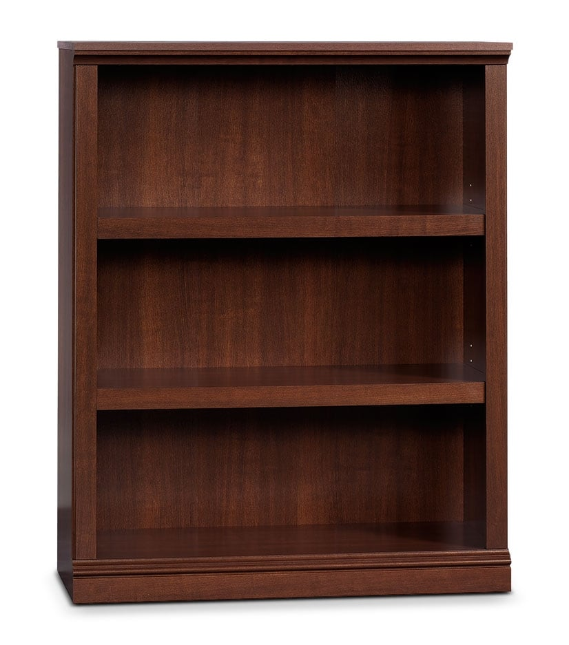Home Office Furniture - Florida Bookcase with Three Shelves – Select Cherry