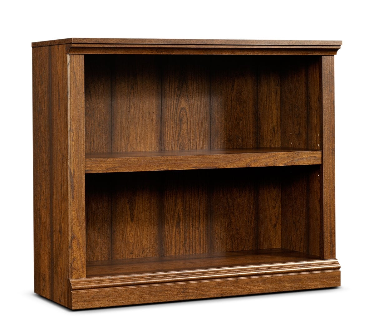 Florida Bookcase with Two Shelves – Washington Cherry