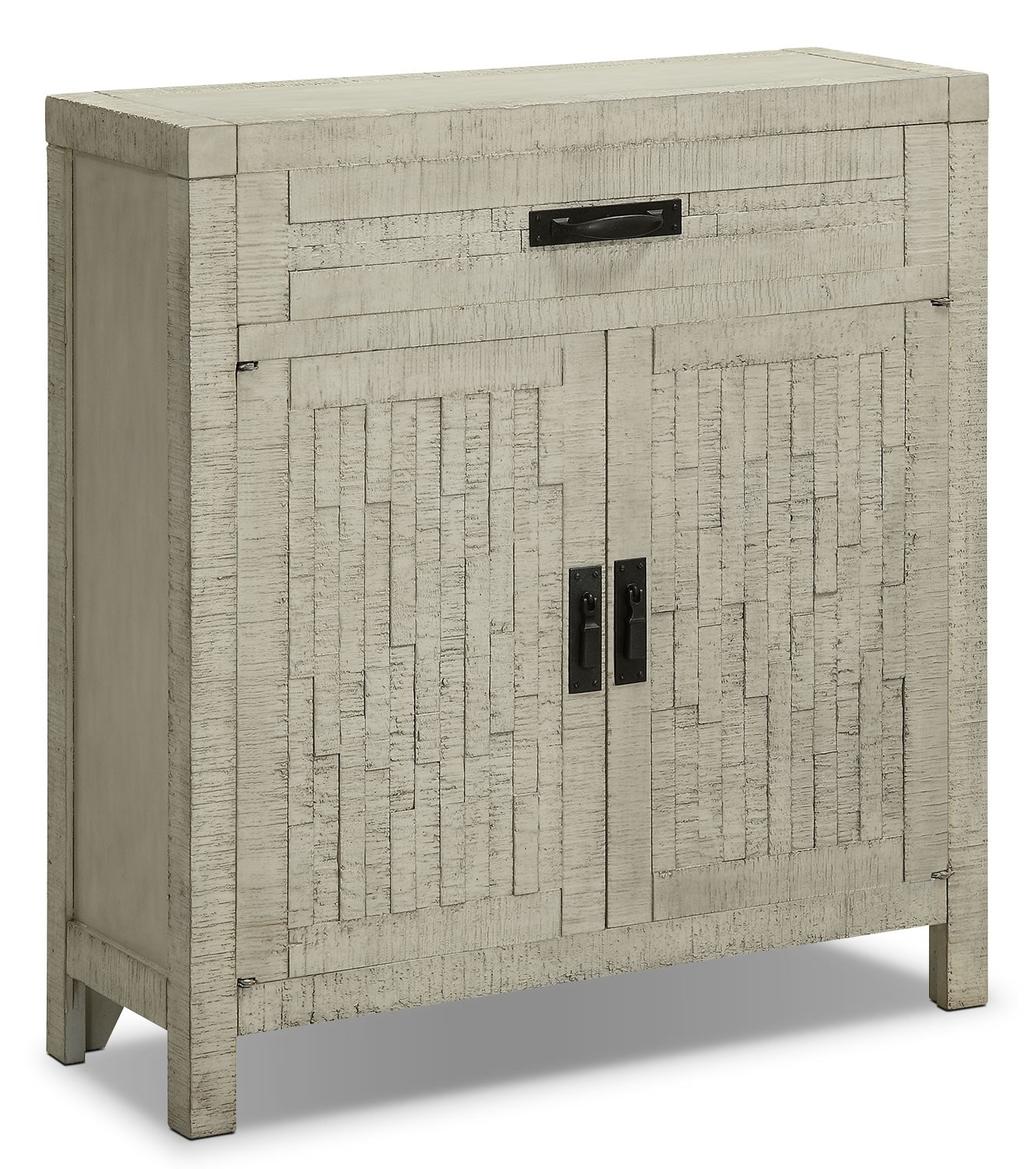 Accent and Occasional Furniture - Acacia 2-Door Accent Cabinet – White