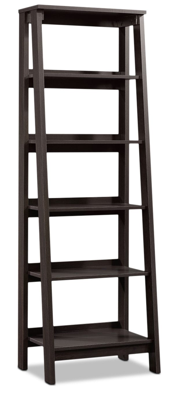 Stockbridge Bookcase with Five Shelves – Jamocha Wood